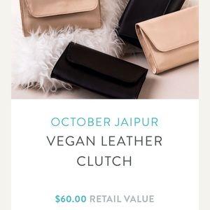 October Jaipur Vegan Leather Clutch-CAUSEBOX F'18